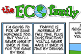 Eco Family Comic Strip