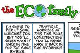 Eco Family Comic Strip