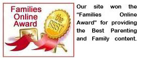 We Won Families Online Award