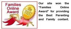 We Won Families Online Award